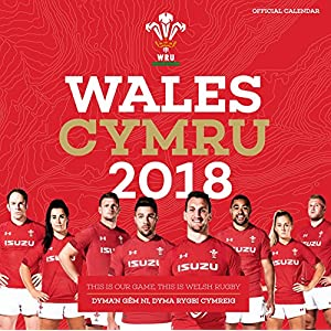 Welsh Rugby Union Official 2018 Calendar - Square Wall Format (Calendar 2018)