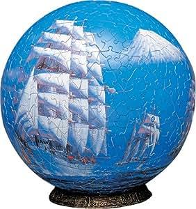 3D球体パズル 小妻要 540ピース 富士洋々 (直径約22.9cm)