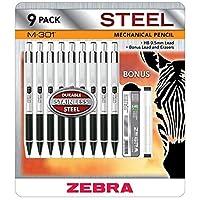ZebraペンMechanical Pencils m301、9パック
