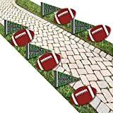 End Zone - Football Lawn Decorations - Outdoor Baby Shower or Birthday Party Yard Decorations - 10 Piece [並行輸入品]