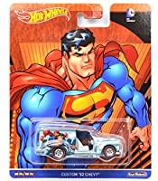 """MATTEL HOTWHEELS """"POP CULTURE"""" DC COMICS - SUPERMAN """"CUSTOM '52 CHEVY"""" マテル社製 ホットウィール 「ポップカルチャー」 DC コミックス - スーパーマン 「カスタム 1952 シェビー」"""