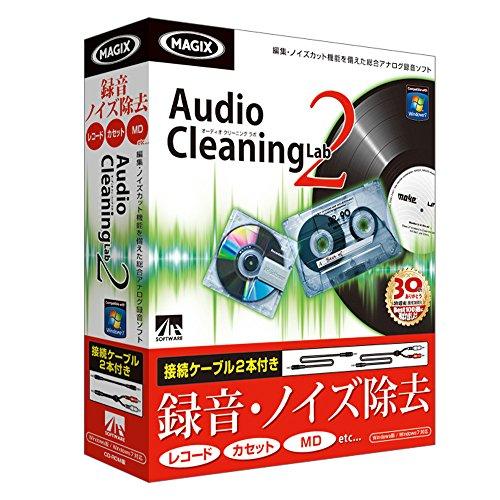 AHS Audio Cleaning Lab2 接続ケーブル2本付き