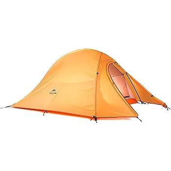 Naturehike公式ショップ テント 2人用 アウトドア 二重層 超軽量 4シーズン 防風防水 PU4000 キャンピング プロフェッショナルテント(専用グランドシート付)