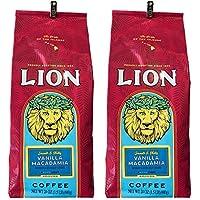 ライオンコーヒー バニラマカダミア 徳用サイズ 680g×2個 (粉)