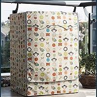 (ボラ-キキ) Bole-kk 洗濯機カバー ドラム式洗濯機用 屋外 防水 防塵 ファスナー 外置き 紫外線対策 老化防止