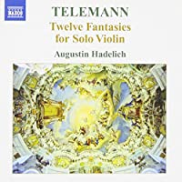 12 Fantasies for Solo Violin