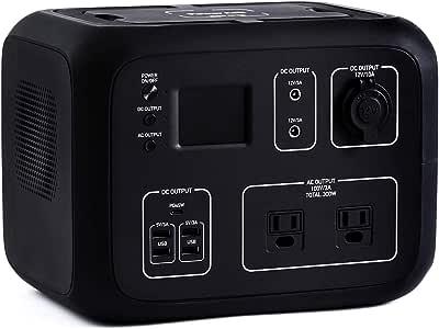 ポータブル電源 PowerArQ2 ジェットブラック (500Wh/45,000mAh/11.1V/正弦波 100V 日本仕様) 正規保証2年 AC50-BK AC50-BK