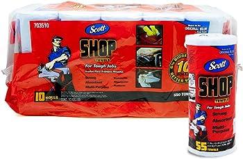 Scott (スコット) SHOP TOWELS/ショップタオル ブルーロール (2パック(20ロール))