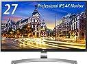 LGモニター ディスプレイ 27UD88-W 27インチ/4K(3840×2160)/IPS 非光沢/USB Type-C、HDMI×2、DisplayPort/高さ調節、ピボット対応