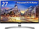 LG モニター ディスプレイ 27UD88-W 27インチ/4K(3840×2160)/IPS 非光沢/USB Type-C、HDMI×2、DisplayPort/高さ調節、ピボット対応