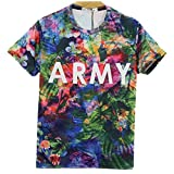 【 16種類 4サイズ 】 3D プリント アート Tシャツ 前衛芸術 美術 クレイジー おもしろ Mサイズ 【 タイプ013 】 SD-ARTTT-13-M