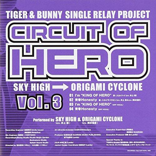 TIGER&BUNNY-SINGLE RELAY PROJECT-CIRCUIT OF HERO Vol.3