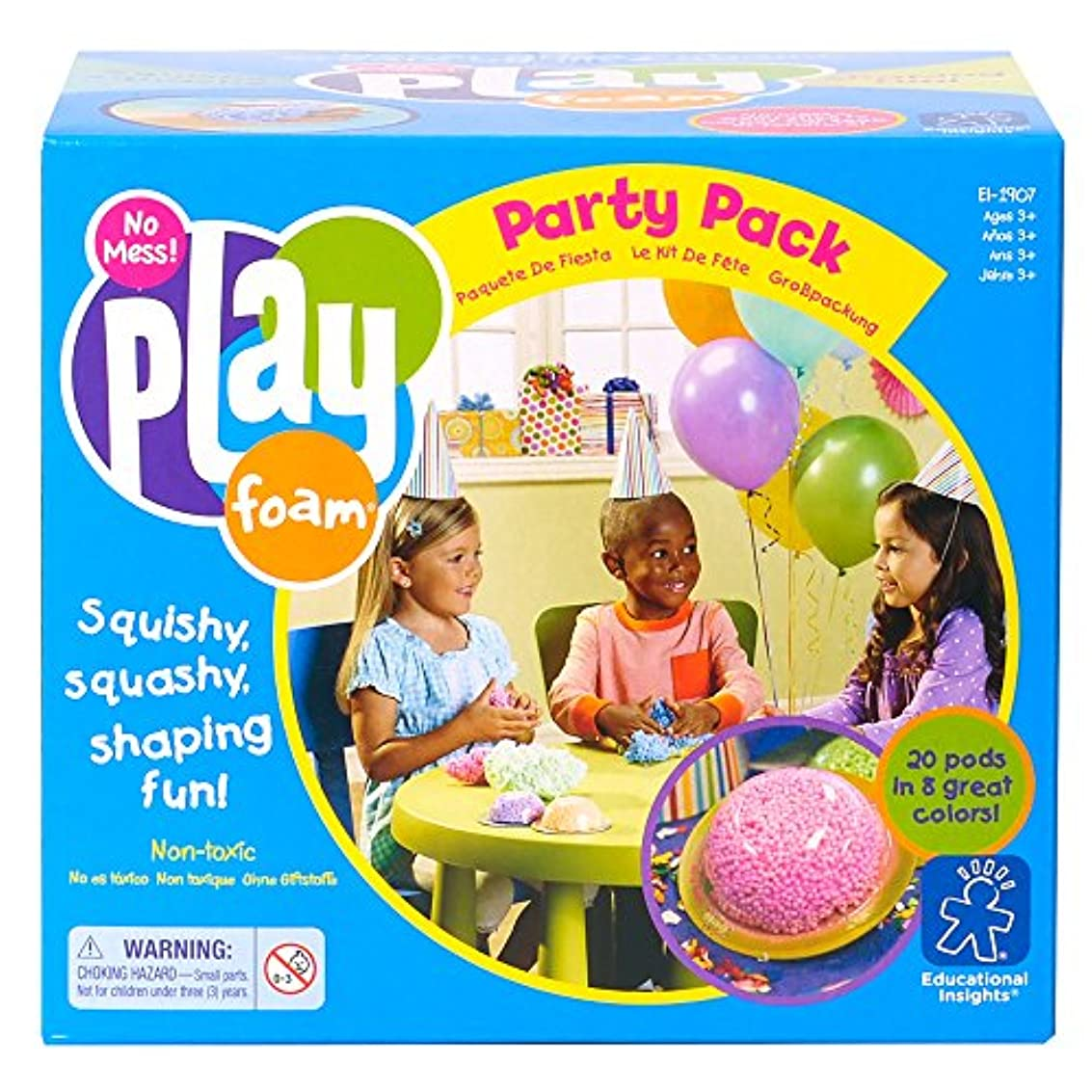 Playfoam Party Pack (20 Pods)  ねんど遊び プレイフォーム パーティパック(20個入り)  知育玩具