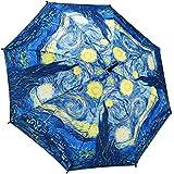 Galleria Starry Night Stick Umbrella
