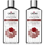 Cremo All Season Body Wash, Bourbon & Oak, 16 Fl. Oz, 2 Pack - Masculine Scent With A Tantalizing Essence Of Lively Distiller