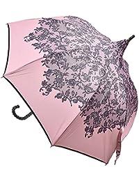 Chantal Thomass シャンタル トーマス パゴダ型 花柄 レース柄 晴雨兼用傘 長傘 CT510
