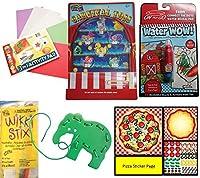 [キュリアスマインド]Curious Minds Busy Bags Travel Toy Activity Bundle for Kids Busy Bag Games for Car and Airplane [並行輸入品]