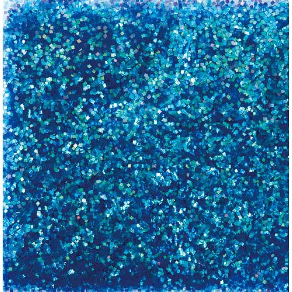 薄い安西処方ピカエース ネイル用パウダー ピカエース オーロラグリッター M #497 ブルー 1.5g アート材