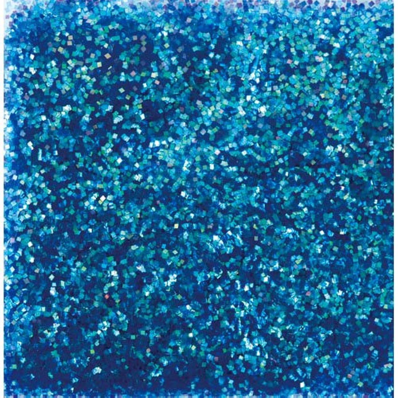 教えて批判的食堂ピカエース ネイル用パウダー ピカエース オーロラグリッター M #497 ブルー 1.5g アート材