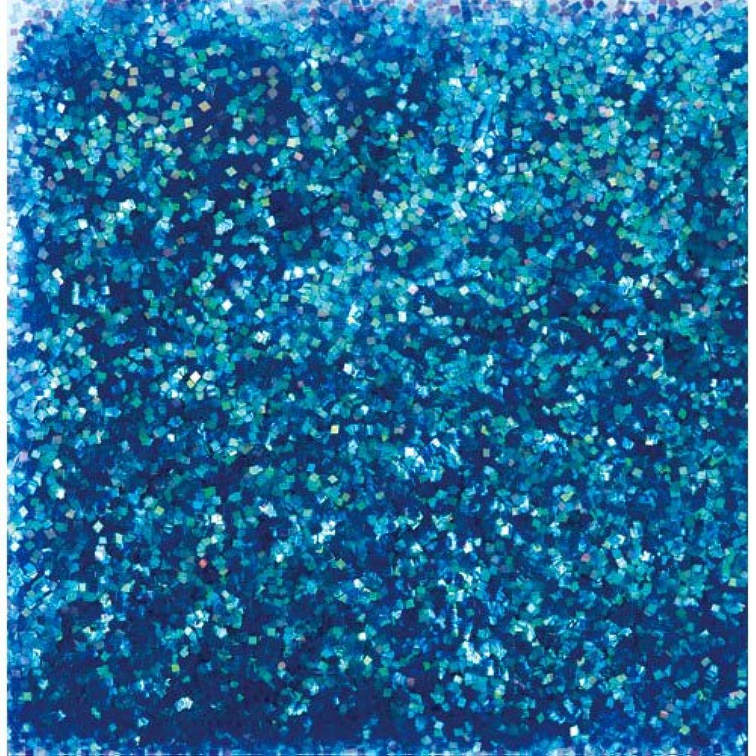 かろうじて経験者悪夢ピカエース ネイル用パウダー ピカエース オーロラグリッター M #497 ブルー 1.5g アート材