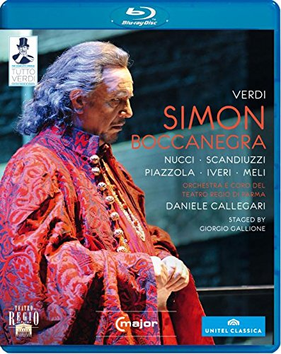 Simon Boccanegra [Blu-ray] [Import]