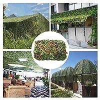 迷彩ネット白シェードネット2×3メートルテント、補強隠し写真軍事ネットオックスフォード布テントオーニング大庭装飾バルコニープライバシーキャンプ (サイズ さいず : 3*8M(9.8*26.2ft))