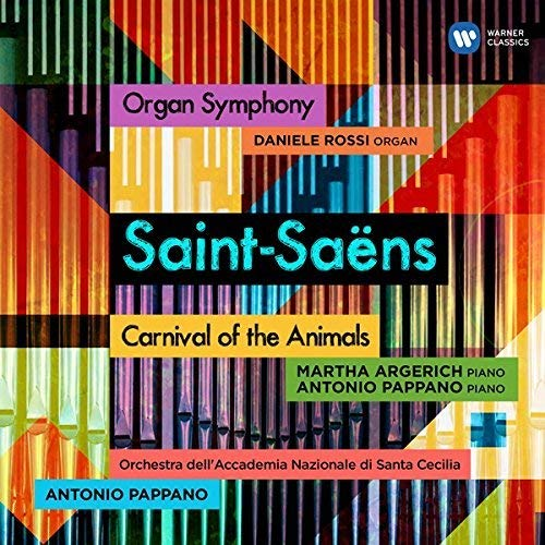 サン=サーンス:交響曲第3番「オルガン付き」、組曲「動物の謝肉祭」