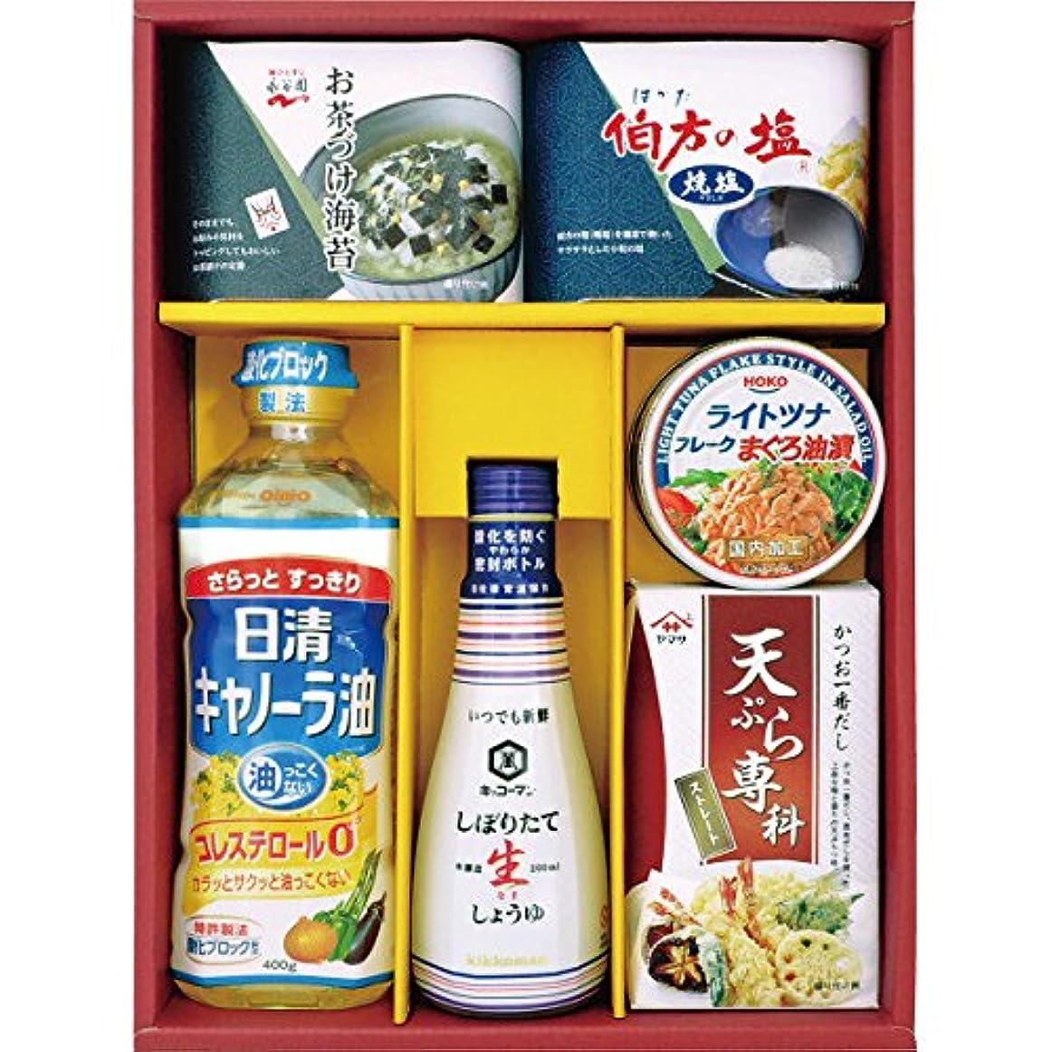 忠実に複合リア王調味料セレクトギフト B189-02