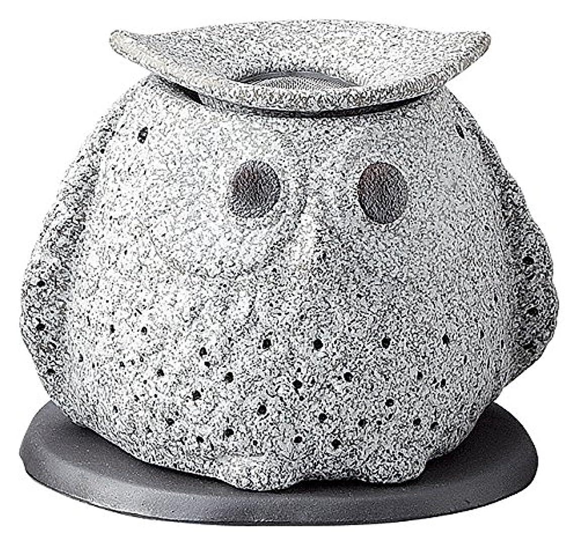 玉ペデスタルジョブ日本セラミックTokoname ware。CHAKORO。Tealeaf Incense Holder。