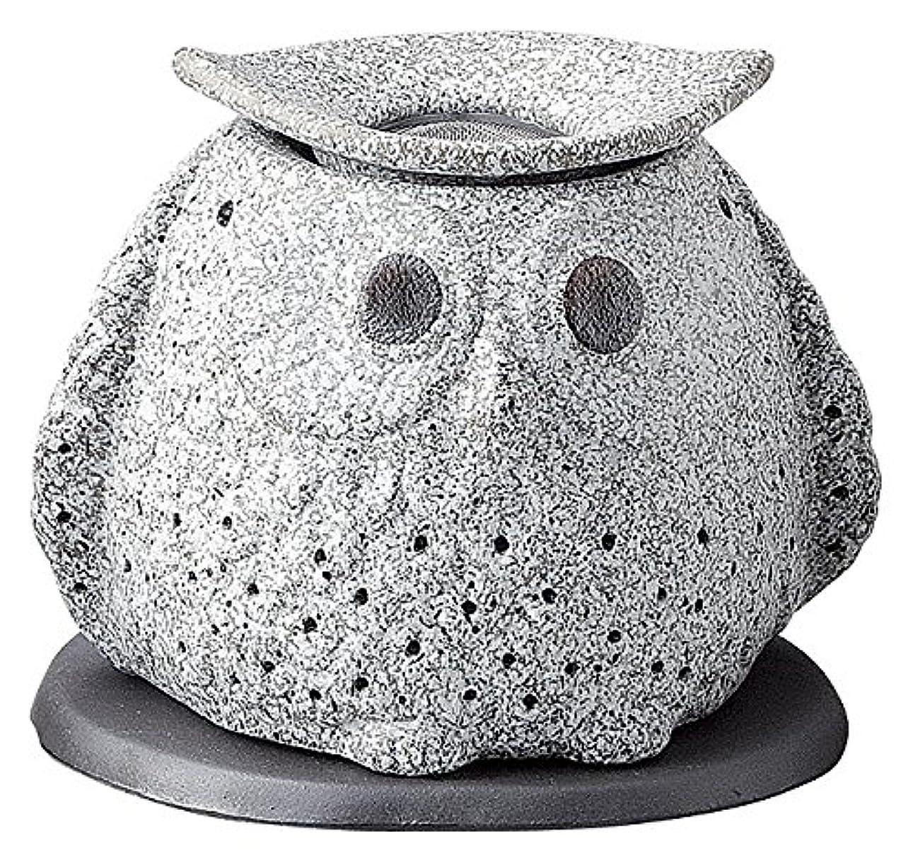 達成沼地ピービッシュ日本セラミックTokoname ware。CHAKORO。Tealeaf Incense Holder。