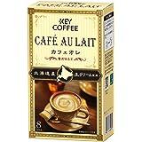 キーコーヒー カフェオレ 贅沢仕立て 8本入 ×6箱 インスタント(スティック) 【北海道産生クリーム使用】