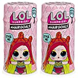 L.O.L. Surprise! Hairgoals 2 Makeover Series with 15 Surprises LOLサプライズ ヘアーゴールズ メイクオーバーシリーズ 2PACK [並行輸入品]