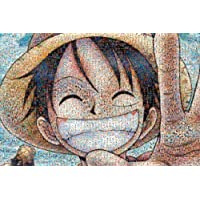 1000ピース ジグソーパズル ワンピース モザイクアート (50x75cm)