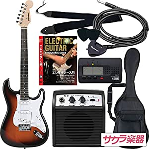 SELDER セルダー エレキギター ストラトキャスタータイプ サクラ楽器オリジナル ST-16/SB 初心者入門リミテッドセット