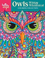 Owls Wild & Whimsical Coloring Collection (Hello Angel Coloring Collection)