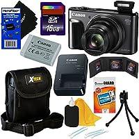 Canon PowerShot sx720HS 20.3MP Wi - Fiデジタルカメラwith 40xズーム& HD 1080pビデオ(ブラック) +アクセサリーキットW/HeroFiber Gentleクリーニングクロス