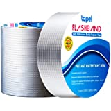 Tapel Butyl Repair Tape 2 in x 33 Ft- Aluminum Foil Waterproof and Insulation Tape- Leak Proof Putty Tape for RV, Silicone, W