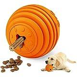 Interactive Dog Toy, LaRoo Pets Dog Snack Dispenser Interactive Dog Toy Dog Treat Dispensing Ball Feeder Toy Dog Chew Toy Dog
