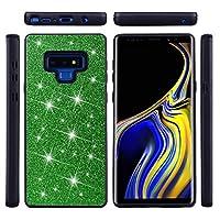 Samsung Galaxy Note 9 シェル カバー Phoebe 耐久性のある 衝撃吸収 保護 シェル Shell ウルトラ インパック 緩衝器 カバー スリム ハイブリッド TPU シェル の Samsung Galaxy Note 9 (Green)