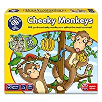 Orchard Toys Cheeky Monkeys a Luck Game [並行輸入品]