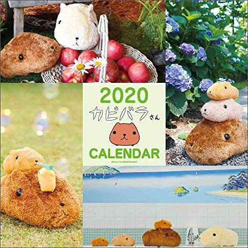2020 カピバラさん壁かけカレンダー ([カレンダー])