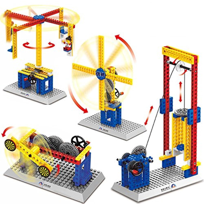 guurachi Electricアセンブリビルディングブロックキット4 - in - 1子供の教育玩具4 Pieces