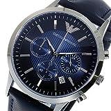 エンポリオ アルマーニ ARMANI クロノ クオーツ メンズ 腕時計 AR2473 ネイビー