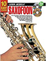 10 Easy Lessons Leer Jezelf Saxophone (Boek/CD/DVD). For サクソフォン