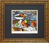 ユーパワー Museum series ミュージアムシリーズ(ジグレー版画) アートフレーム セザンヌ 「果物ナイフのある静物」 MW-18066
