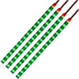 LED テープライト 正面発光 12V車用 切断可能 両面テープ 30cm 15連 防水 4本セット001 (グーリン)