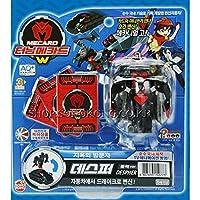 despherブラック_新しいTurning Mecards W Transformer Robot to車Koreanおもちゃby Sonokong