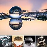 水晶玉 60mm 無色透明 クリア台座付き 宙玉撮影 クリスタルボール レンズボール 撮影 水晶球