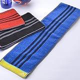 日繊商工 adidas マキシム スリムスポーツタオル ブルー AD-1025