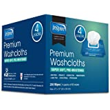 "Adult Wet Wipes | Adult Wash Cloths Extra Large, Adult Wipes for Incontinence & Cleansing, 8""x12"", 200 ct …"